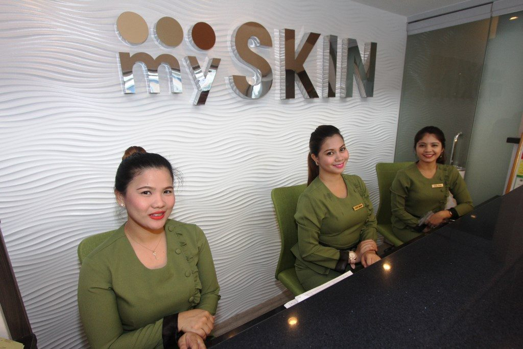 MySkin Clinic and Aesthetic Center Lobby
